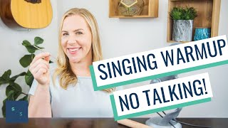 Best Singing Warmup - No Talking, Just Exercises (with the Singing / Straw)