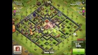 Clash of clans - Une autre victoire à 100% en Master