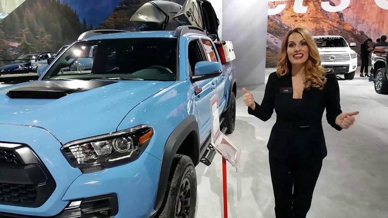 2018 Toyota Tacoma Trd Pro In New Color