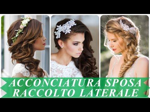 Tendenze Acconciatura Sposa Raccolto Laterale 2018 Youtube