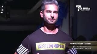 GRUNGY GENTLEMEN New York Fashion Week Men
