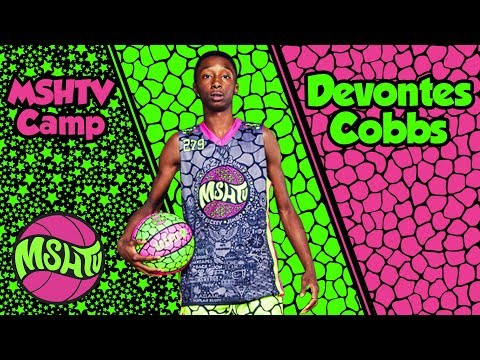 MOST EXCITING 8TH Grader Devontes Cobbs REPS The 414 at 2017 MSHTV Camp
