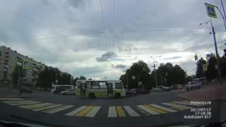 Авария на пересечении Бестужевской и Пискаревского
