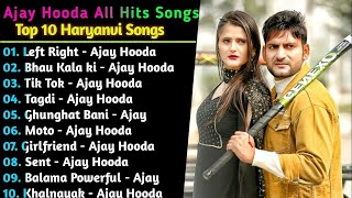 Ajay Hooda Haryanvi Songs || New Haryanvi Jukebox 2021 || Hit's Of Ajay Hooda || Superhit songs |New