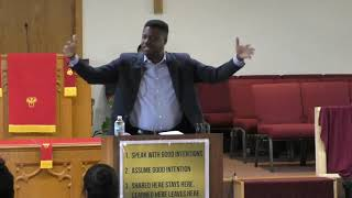 """Acts 3  """"Being a Witness"""" - Rev Everett Mitchell"""