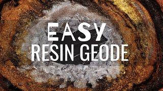 Easy Resin Geode Tutorial