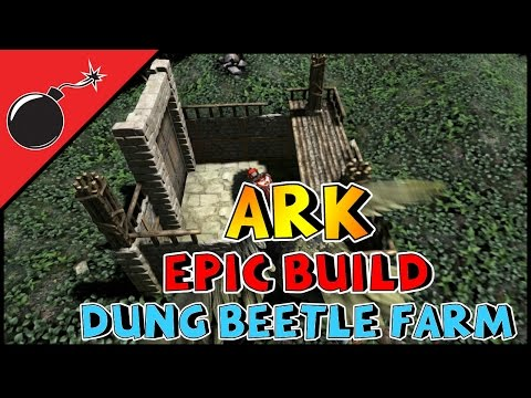 ARK: Survival Evolved -  DUNG BEETLE FARM AND MORE! (S1E77)