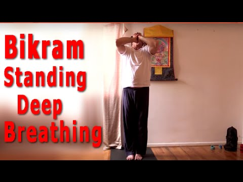 Standing Deep Breathing (STB) Bikram Yoga with John Golterman