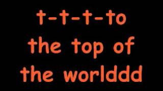 Top Of The World - The Cataracts Lyrics