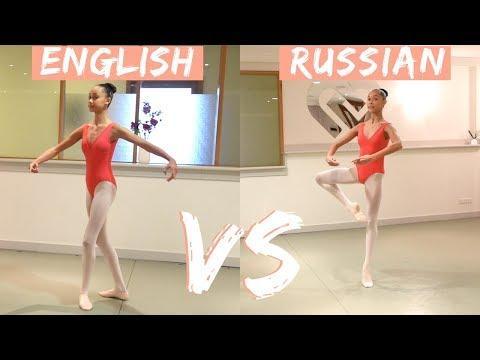 ENGLISH VS RUSSIAN