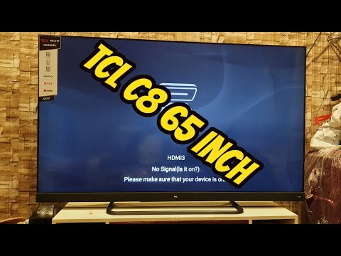 TCL C8 UHD LED 2019 model  Review on Gaming and Movies