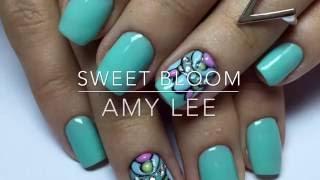 Маникюр Дизайн ногтей. Объемный дизайн ногтей или Sweet bloom. Покрытие гель лак  Nail Art Designs