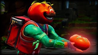 Fortnite PROTECT TOMATO TOWN! - Funny Gameplay Moments