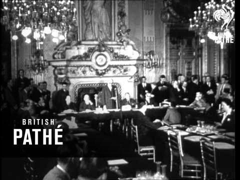 Selected Originals - European Nations Meet To Discuss Schuman Plan (1950)