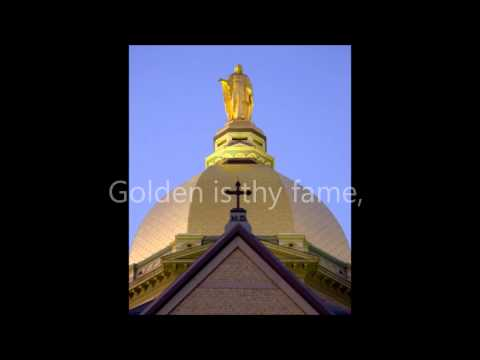 Notre Dame, Our Mother Lyrics