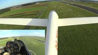 Vleka jadralnega letala z vitlom