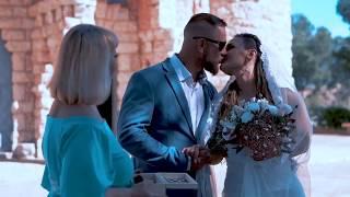 Свадебная церемония в Испании   HD 720p