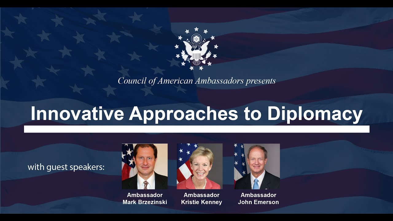 Innovative Approaches to Diplomacy
