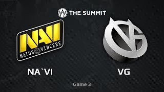 NaVi.UA vs VG, The Summit WB Semifinals, Game 3
