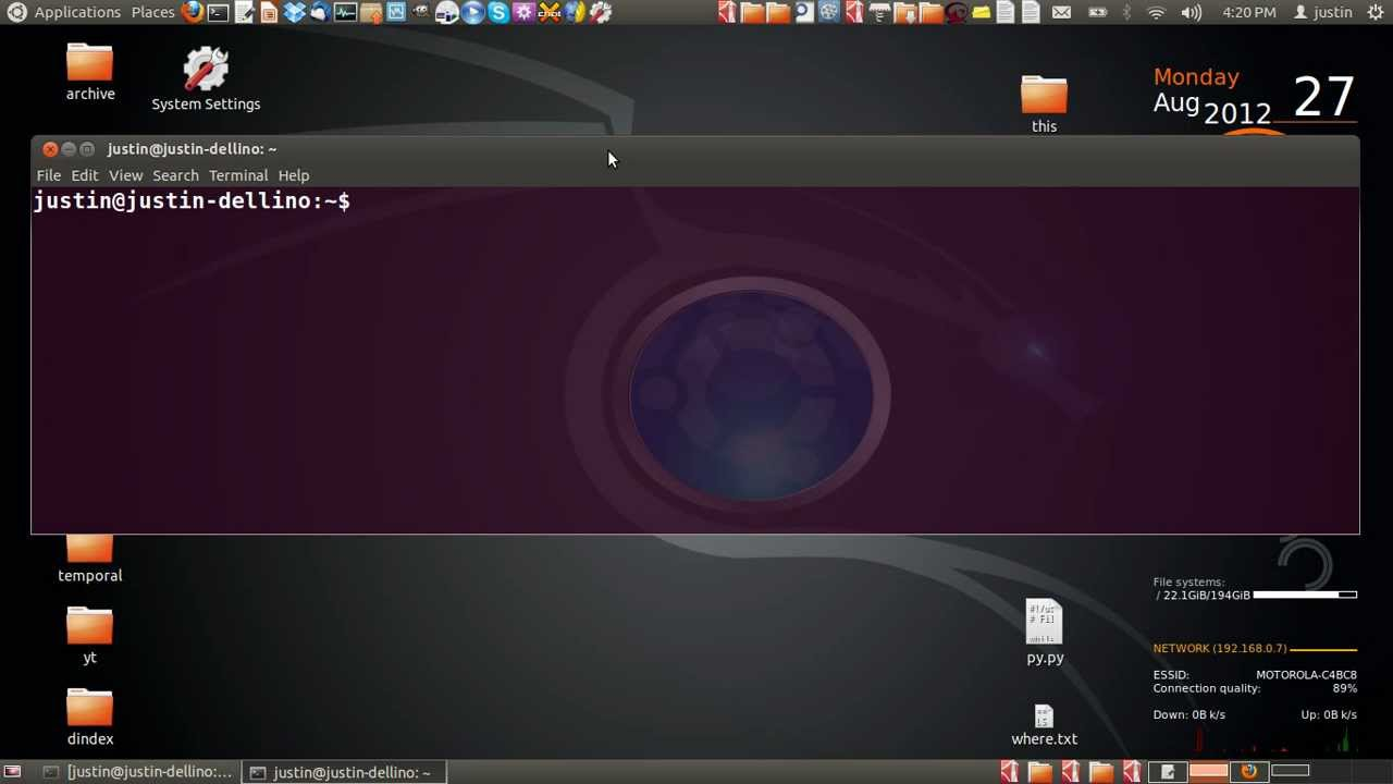manually enable wireless or bluetooth in ubuntu 12 04