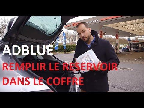 AdBlue ® : comment remplir le réservoir dans le coffre ? - Total France -