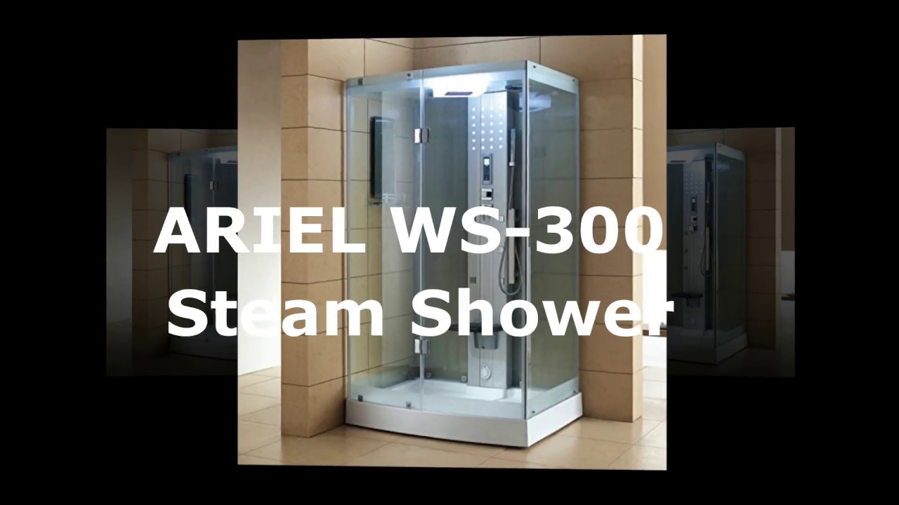 New ARIEL WS 300 Steam Shower