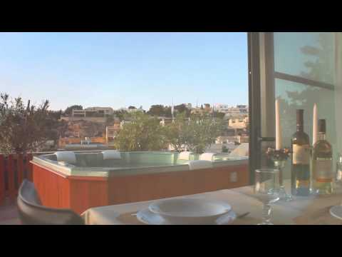 Mellieha 2 bedroom Penthouse with Private Pool and Jacuzzi - MALTA