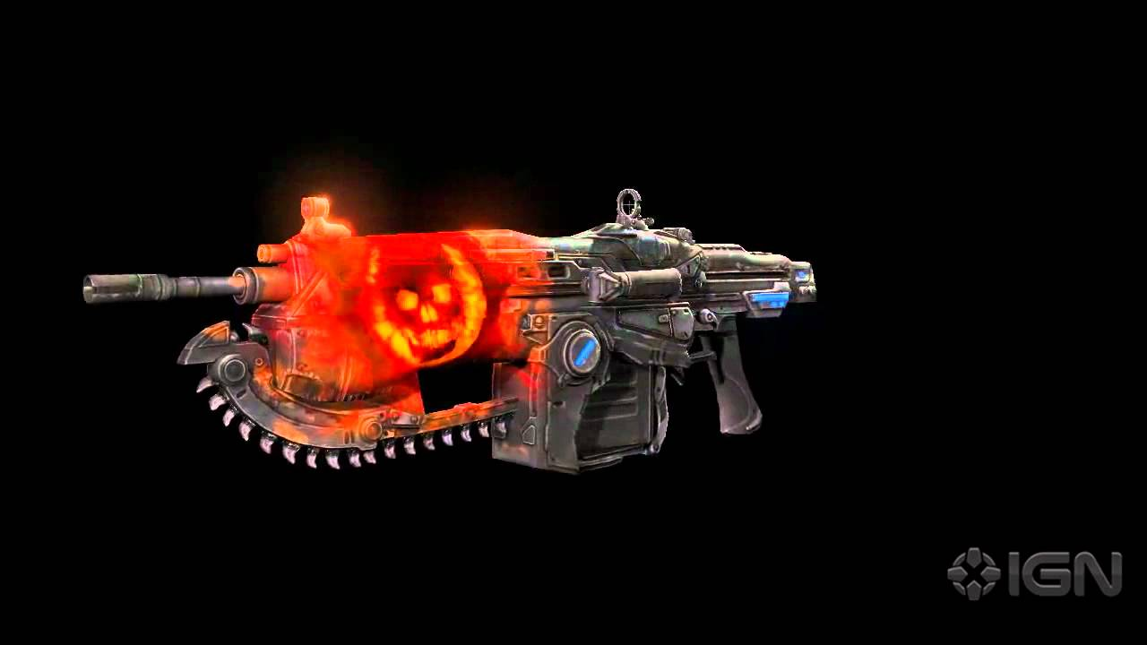 Gears of war 3 weapon skins infected omen youtube for Sign of portent 3