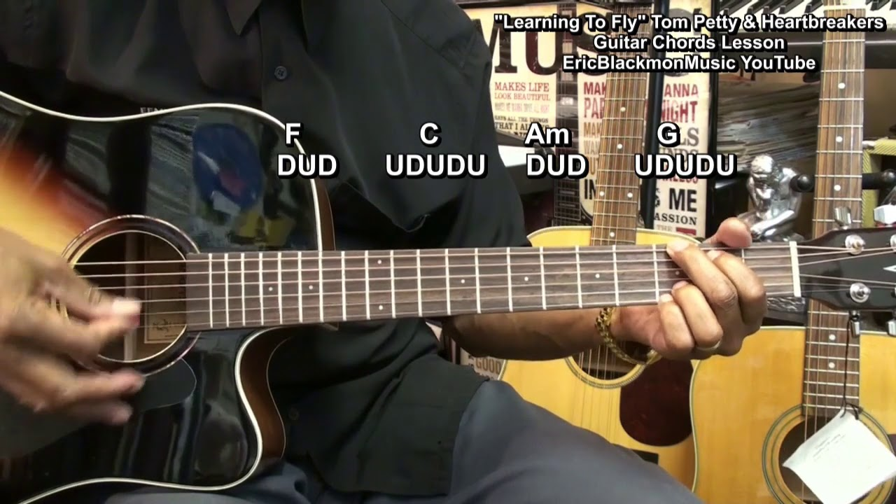 How to play learning to fly tom petty heart breakers guitar how to play learning to fly tom petty heart breakers guitar lesson ericblackmonguitar hexwebz Images