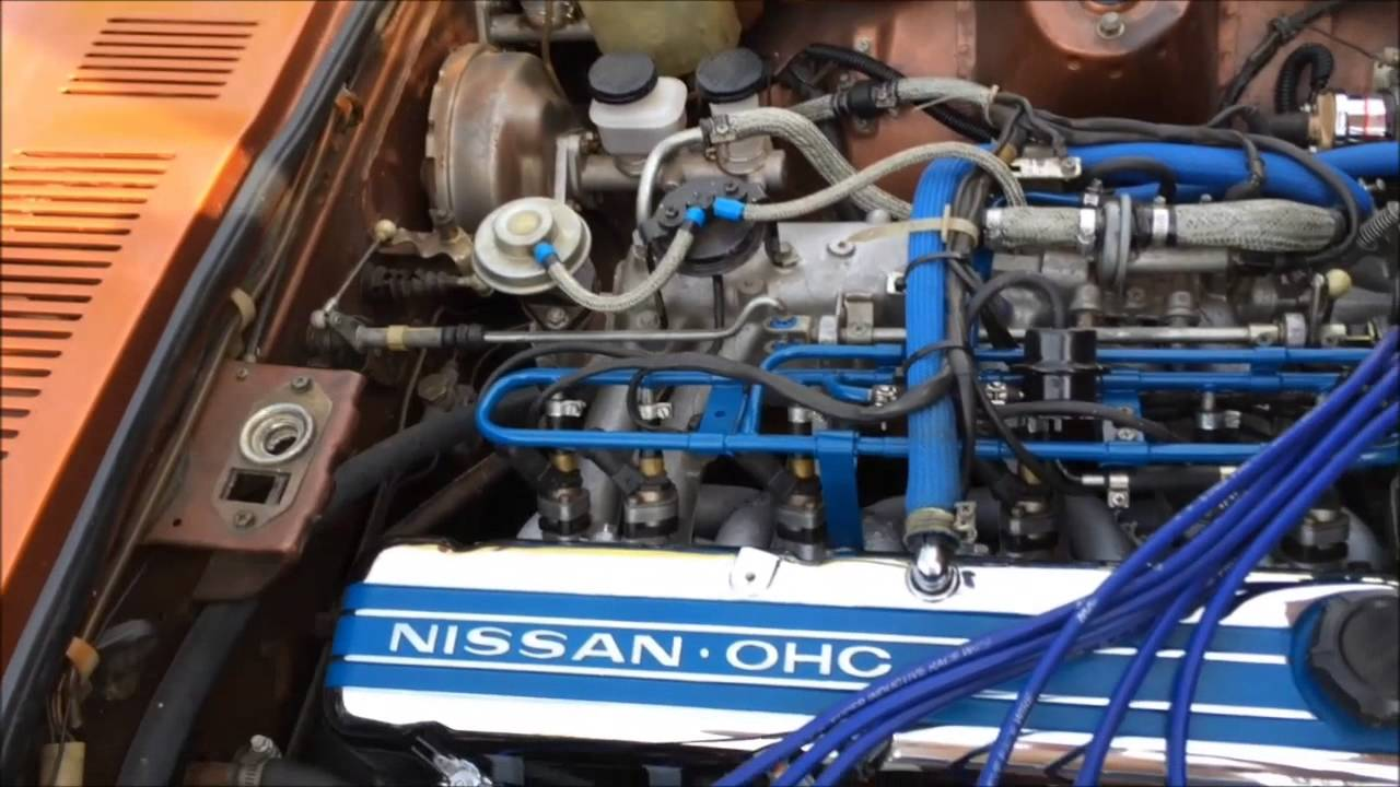 1977 Datsun 280z Engine Description