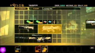 Deus Ex Human Revolution (DEHR / DXHR) - hack / trainer - Inventory stuff / get any item / weapon