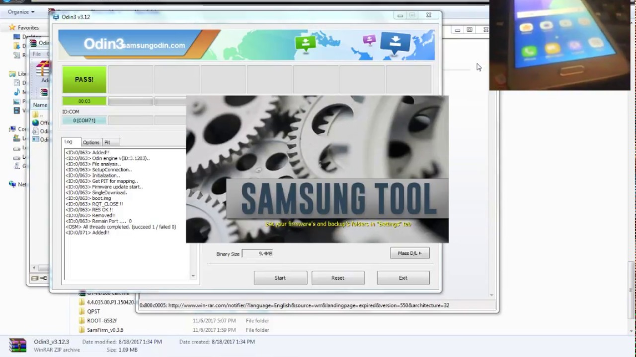 How To Samsung G532F Root And SIM Unlock Done by Z3X Pro By