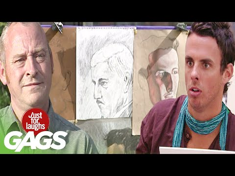Best of Art Pranks Vol. 2   Just For Laughs Compilation