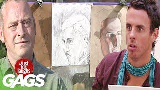 Best of Art Pranks Vol. 2 | Just For Laughs Compilation