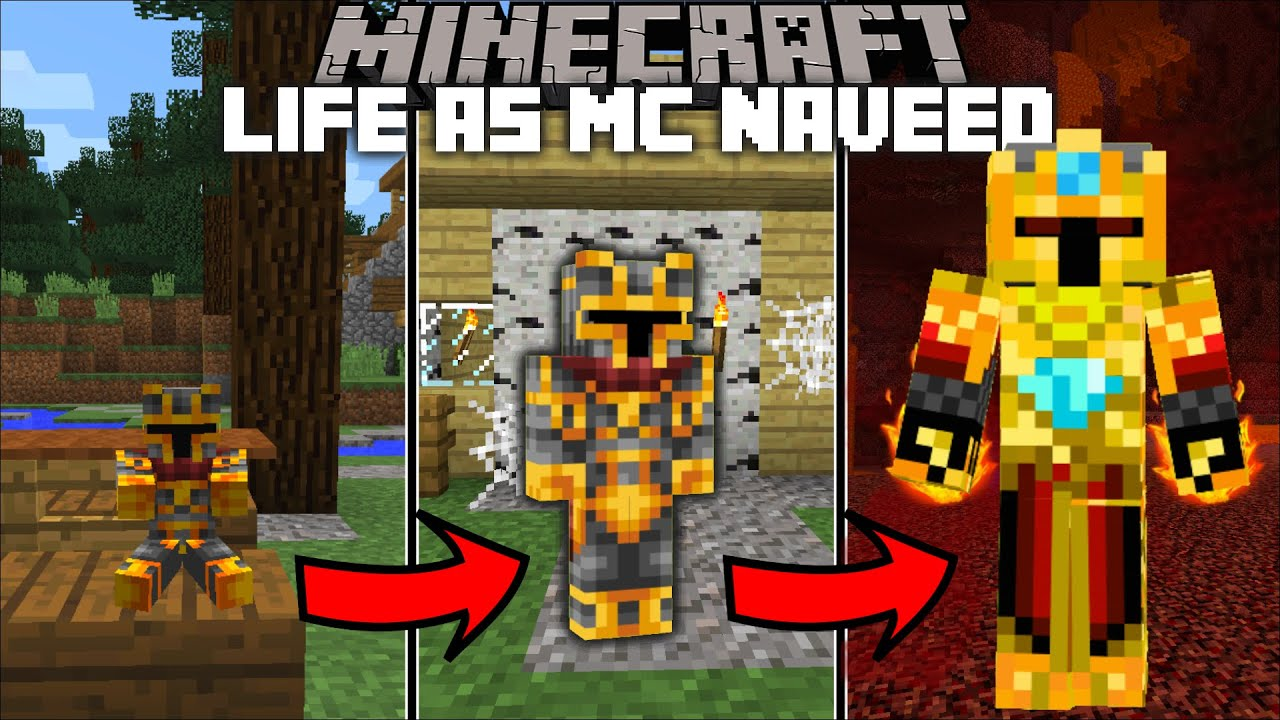 Minecraft LIFE AS MC NAVEED MOD / FIGHT OFF THE BOSS MC NAVEED AND SURVIVE  !! Minecraft