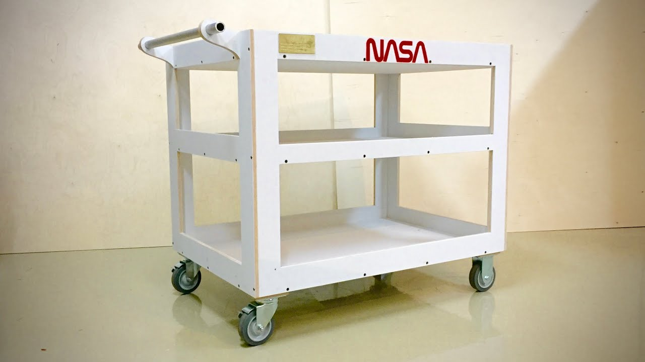 Wooden Utility Cart Tom Sachs Insprired Youtube