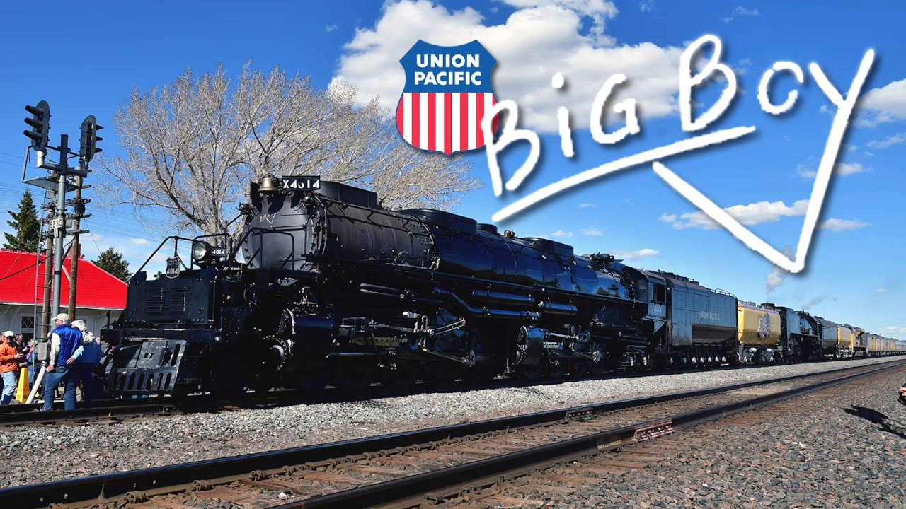 UP 4-8-8-4 Big Boy - The Largest Steam Engine Back in Action