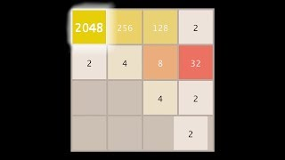 AI learns to play 2048