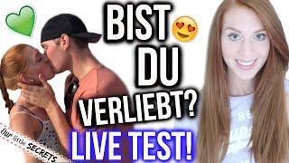 10 ANZEICHEN DASS DU VERLIEBT BIST! | Mach den Live Test! | LaurenCocoXO