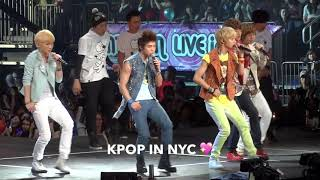 Happy 12th Anniversary SHINee ? SMTOWN LIVE in NYC 2011.10.2…