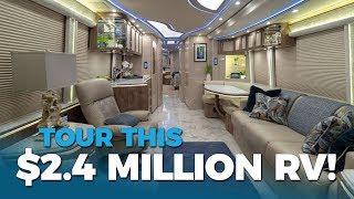 $2.4 MILLION DOLLAR RV TOUR   Marathon Coach at Florida RV Supershow