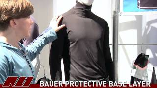 Interview with Bauer on thier Integrated Neck Guard Base Layer