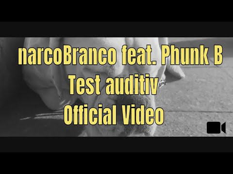 narcoBranco -Test Auditiv feat Phunk B [Official Video]  prod. de SEZ