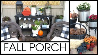 FALL PORCH DECORATE WITH ME 2019 | PATIO REFRESH & FALL DECOR