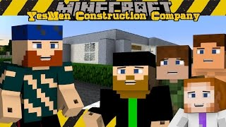 Minecraft | YesMen Construction Company | #12 GRAVITY GUN