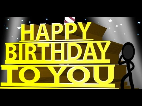 Personalized Happy Birthday E-Card Video Greeting Card