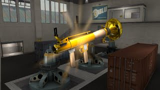 TF2: Australium Rocket Launcher Turbine