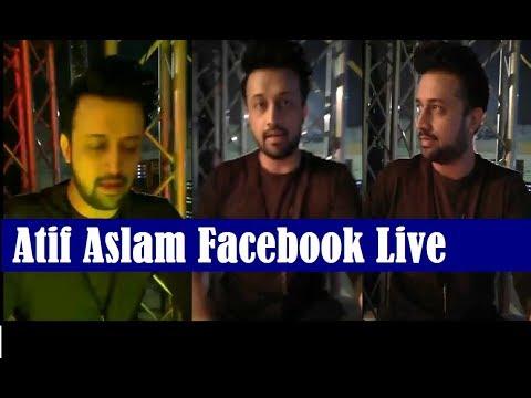 Atif Aslam Facebook Live from Doha Concert