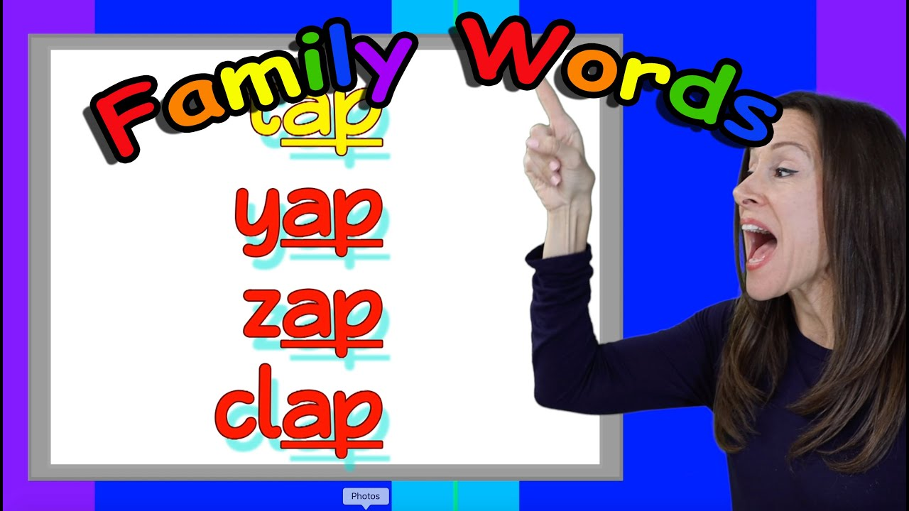Word Families for Children Song Short A Version 2 Patty Shukla Patty's Primary songs Preschool Song