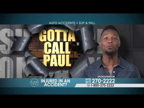 Dallas Accident Attorney Fights The Insurance Company For You | Gotta Call Paul Wingo